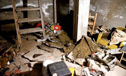 Omakotitalon kellarissa räjähti Joensuussa.
