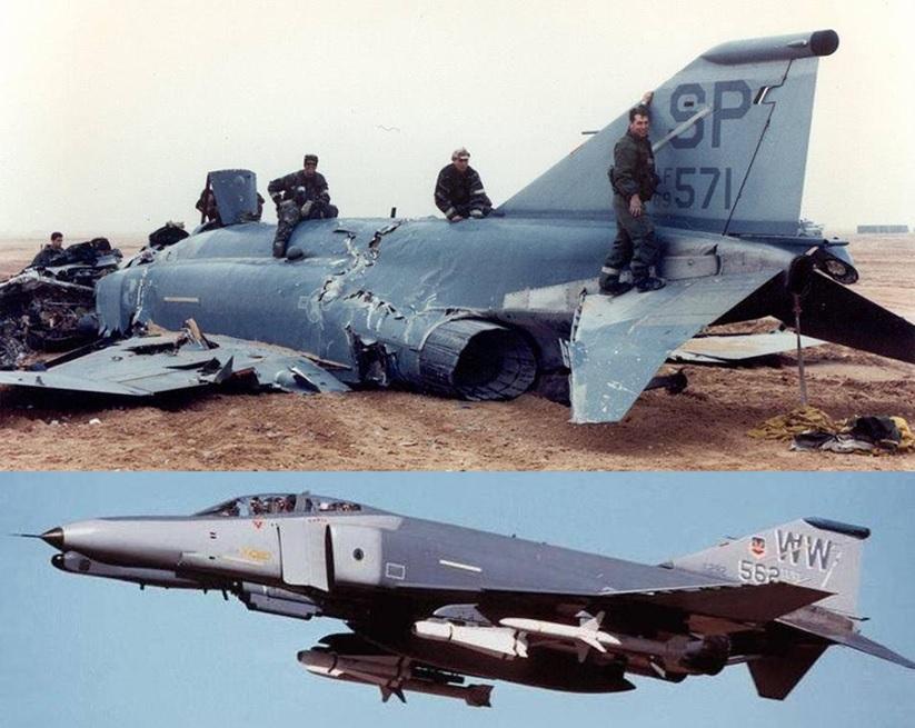 körfez savaşında düşen f-4g