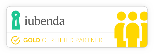 iubenda Certified Gold
