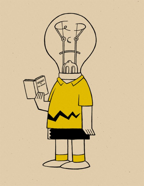 'Lightbulbhead' by Rob Jones as part of his 'Grief' Series