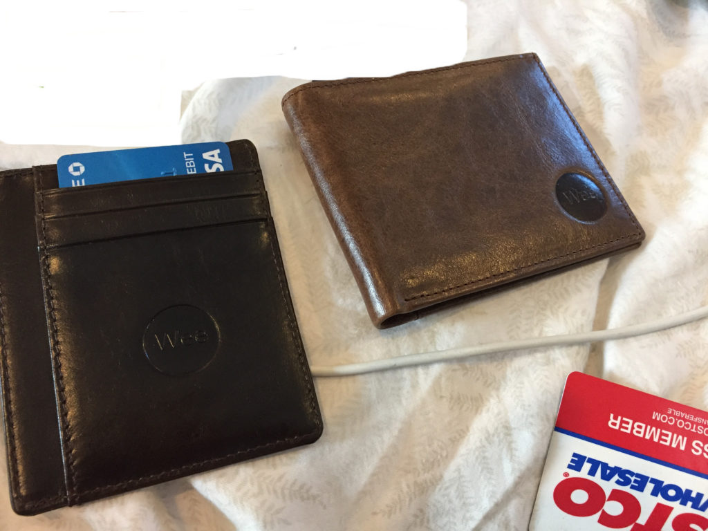 Front pocket wallet review