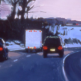 About Halfway Back, Last Light, Snow, 2001