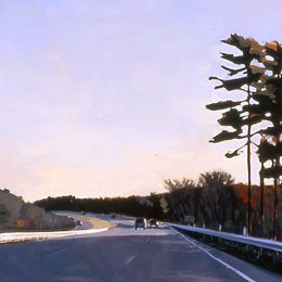 Driving Back Alone, Late Fall, 2001