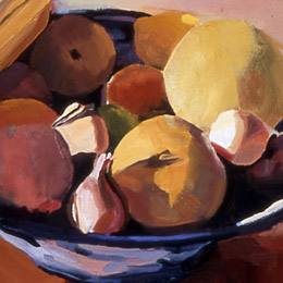 Bowl of Fall Fruit, 2002