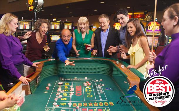 Swinomish Casino & Lodge offer 24/7 gaming.