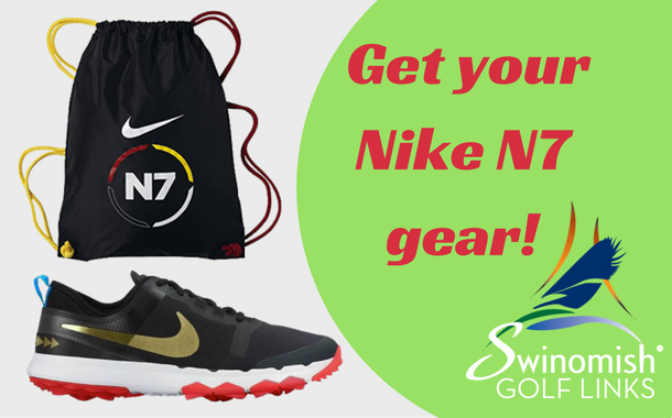 Get your Nike N7 gear at Swinomish Golf Links!