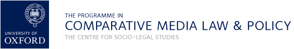 The Programme in Comparative Media Law and Policy (PCMLP)