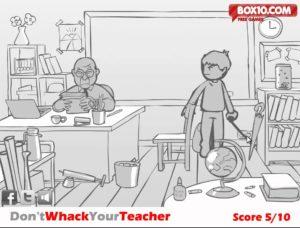 whack your teacher game