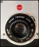 Kodak Bull's Eye camera's detail