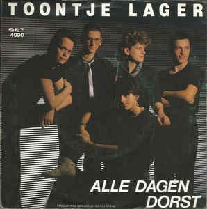 """Alle Dagen Dorst (Vinyl, 7"""", 45 RPM, Single) album cover"""