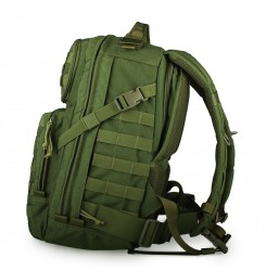 Black waterproof tactical backpack for hiking PP5-0037 | PPT P.P.T