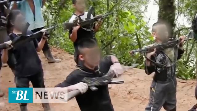 FARC trains children by killing other children
