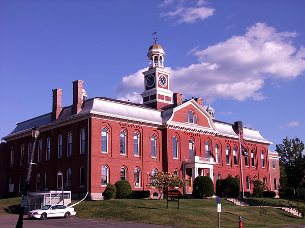 Houlton Maine, County Court House In Shiretown