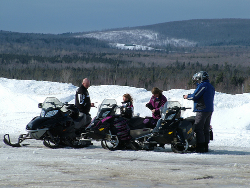 Maine Snowsled ITS Trails, ATV Four Wheel Paths
