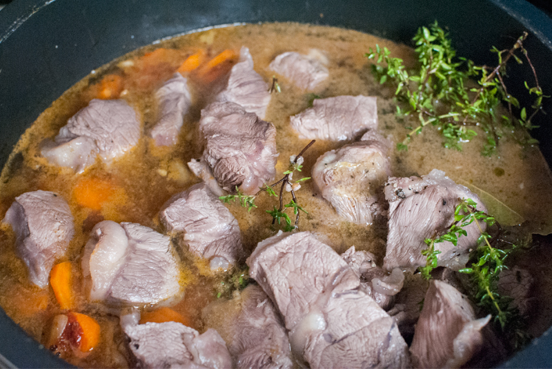 French summer beef stew
