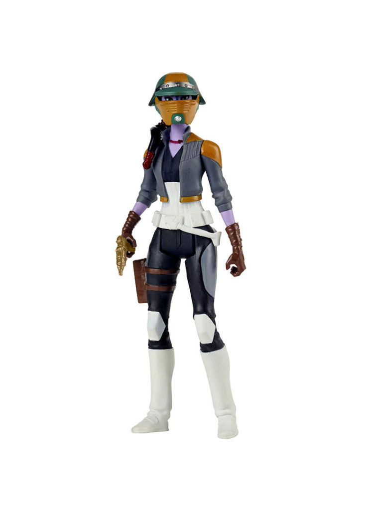 Synara from the Hasbro Star Wars Resistance line.
