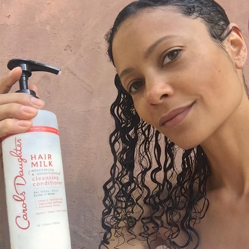 Thandie Carol's Daughter Hair Milk