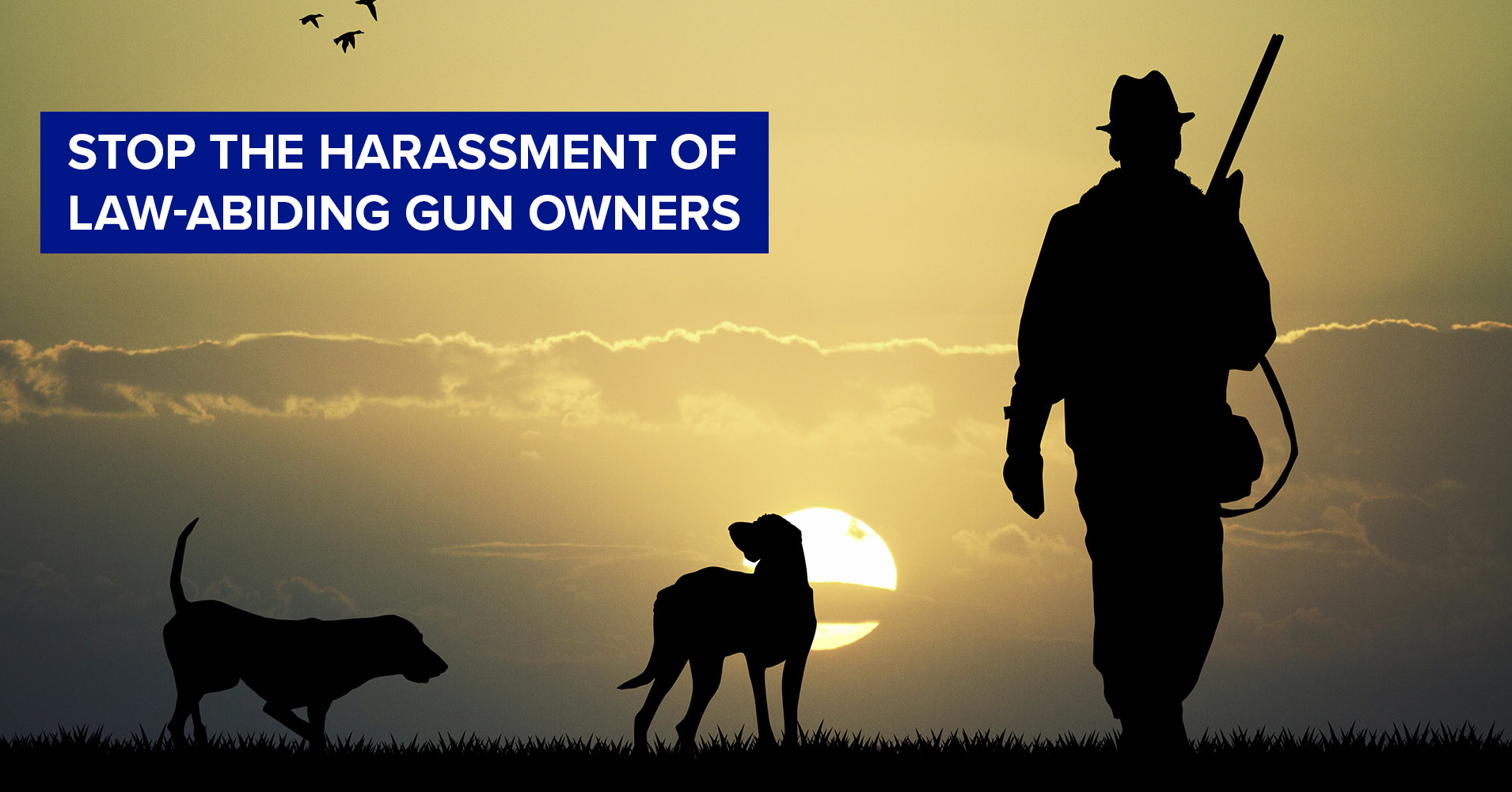 Stop the harassment of law-abiding gun owners