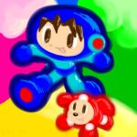 megaman swaped with mr driller by phatboyzack