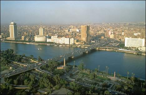 Cairo seen from Giza