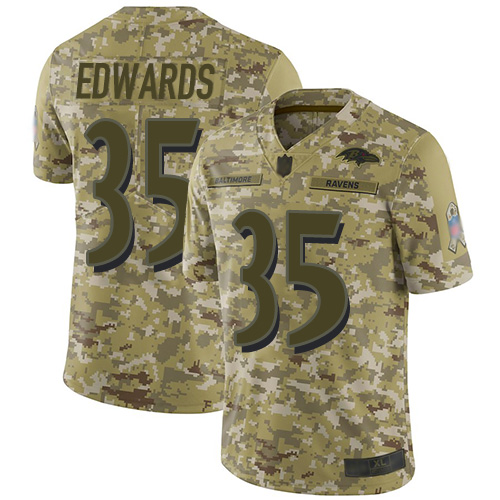 Youth Maxx Williams Camo Limited Football Jersey: Baltimore Ravens #87 2018 Salute to Service  Jersey