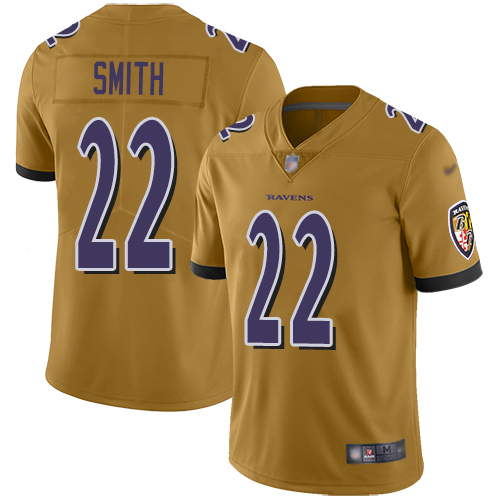 Jimmy Smith Purple Backer Football : Baltimore Ravens #22 Pullover Hoodie