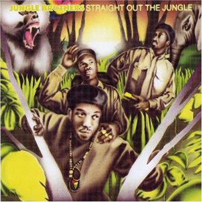 """Black is Black""/""The Promo""--Jungle Brothers feat. Q-Tip (1988)"