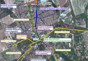 Tájékoztató járdafelújítási és kerékpárút építési munkálatokról