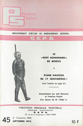 La couverture du n° 45 de Phénomènes Spatiaux