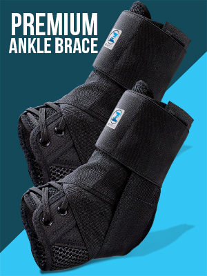 ankle brace support foot compression sleeve wrap for men women running basketball soccer volleyball