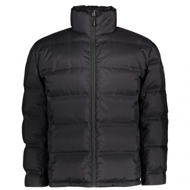 K-Way Men's Oscar Down Jacket  - Black/Black