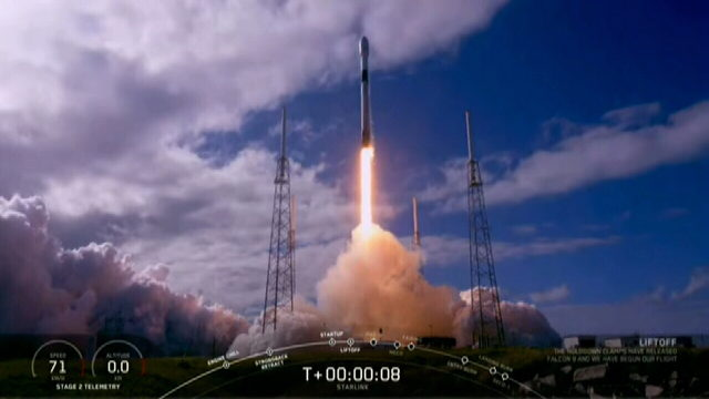 SpaceX launches second round of Starlink satellites