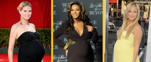 Celebrity secrets to losing the baby weight!