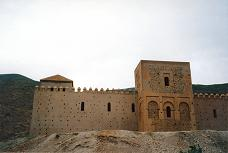 Almohads: The mosque at Tin Mal, well protected in the High Atlas mountains of Morocco.