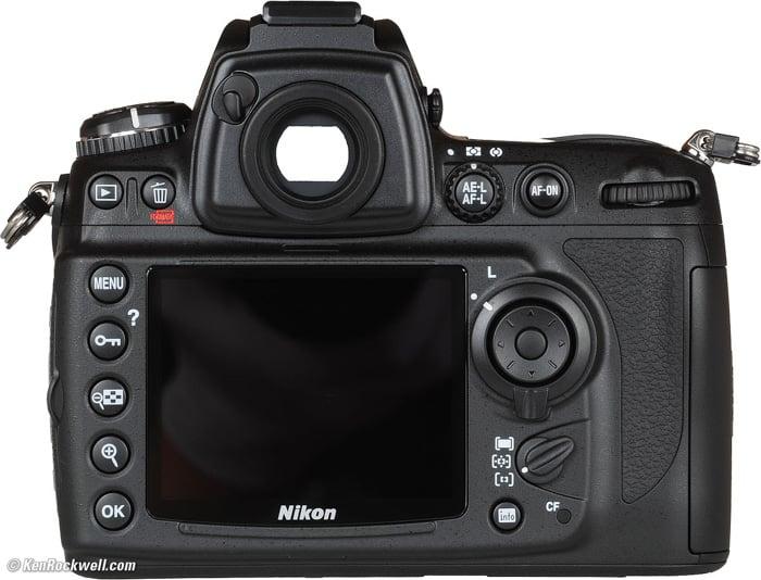 A Nikoncamera on white background - understand ae-l af-l