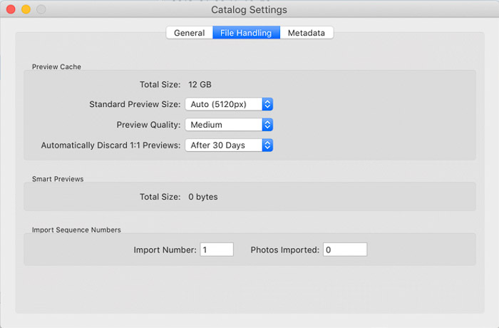 A screenshot showing how to organize photos in lightroom