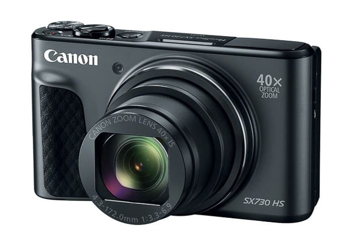 A Canon point and shoot camera