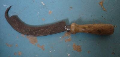 Turnip knife
