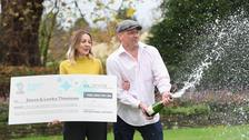 Euromillions winner: 'I was a shaking, gibbering wreck'