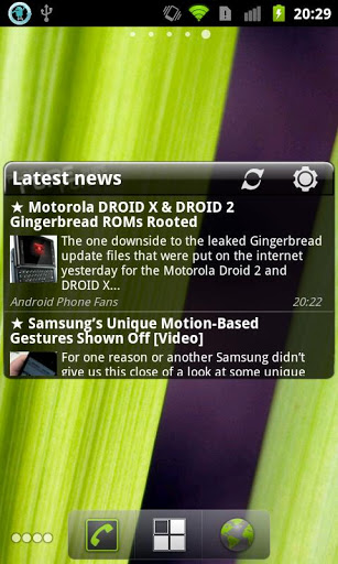 Pure news widget scrollable v1.2.5