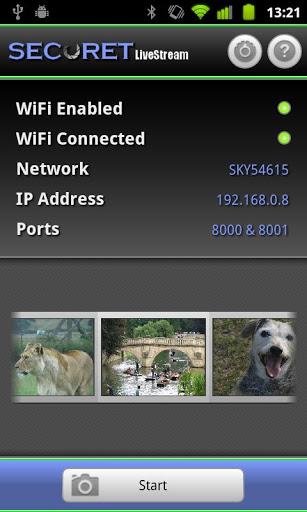 Camera WiFi LiveStream v1.9.2
