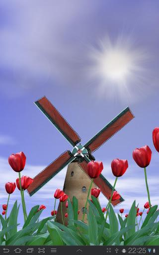 Tulip Windmill Live Wallpaper FULL v2.20