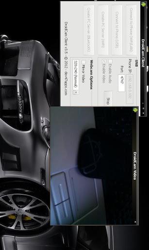DroidCamX Wireless Webcam Pro v1.5.2