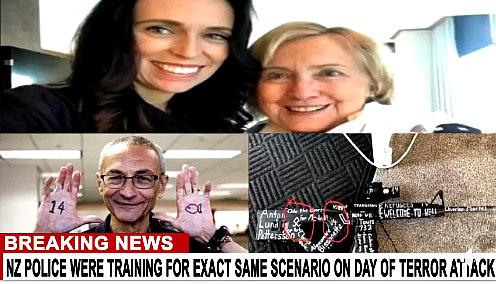 Ardern, Clinton, Podesta and gun