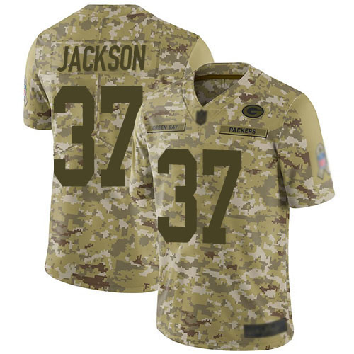 Women's Josh Jackson Green Home Elite Football Jersey: Green Bay Packers #37 Vapor Untouchable  Jersey