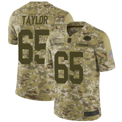 Women's Lane Taylor Green Home Elite Football Jersey: Green Bay Packers #65 Vapor Untouchable  Jersey