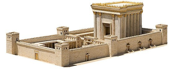 The temple in Jeruslam is the context of the Olivet Discourse in Matthew 24