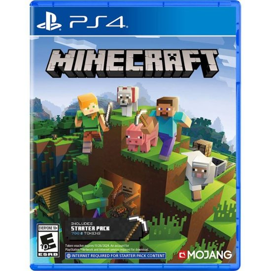 Minecraft Starter Collection - PlayStation 4 - Front_Zoom. 1 of 6 . Swipe left for next.