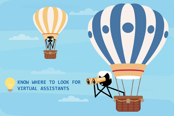 Know where to search for Virtual Assistants