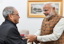 Photo of PM Modi wishes former President Pranab Mukherjee on his birthday
